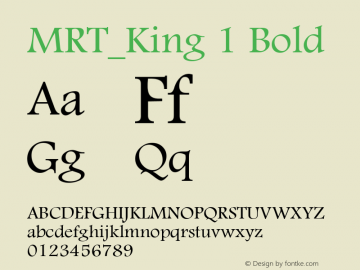 MRT_King 1