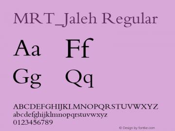 MRT_Jaleh