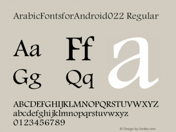 ArabicFontsforAndroid022