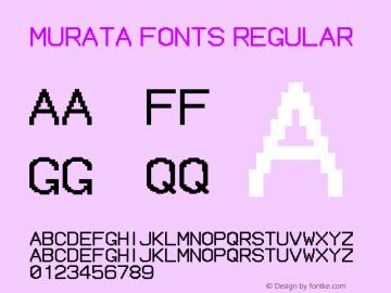 muRata FONTS