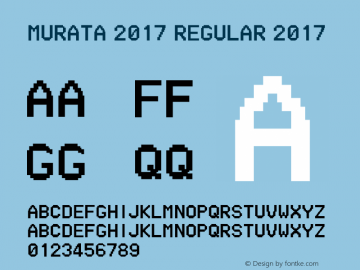 MURATA 2017