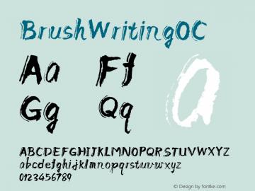 BrushWritingOC