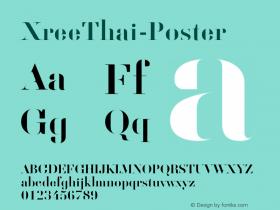 XreeThai-Poster