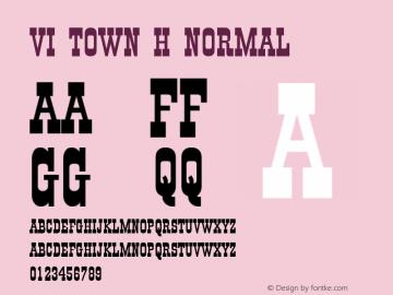 VI Town H