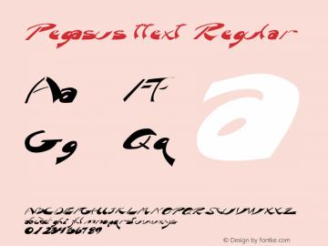 Pegasus ttext