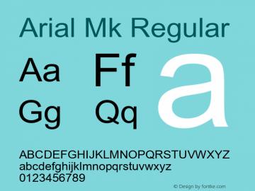 Arial Mk