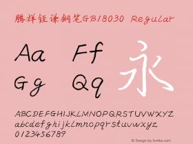 腾祥铚谦钢笔GB18030