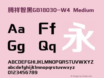 腾祥智黑GB18030-W4