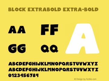 Block ExtraBold