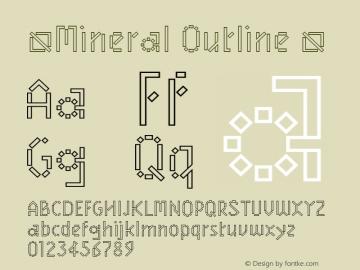 ☞Mineral Outline
