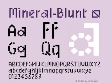 Mineral-Blunt