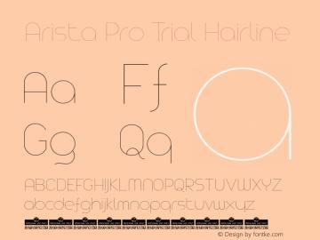 Arista Pro Trial