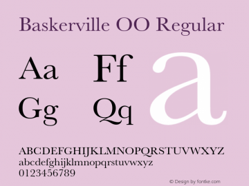 Baskerville OO