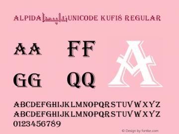 Alpida_Unicode Kufi8