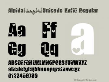Alpida_Unicode Kufi6