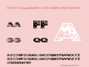 Alpida_Unicode Kufi5