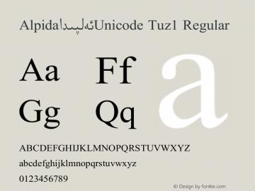 Alpida_Unicode Tuz1