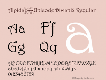 Alpida_Unicode Diwani2