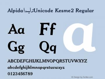 Alpida_Unicode Kesme2