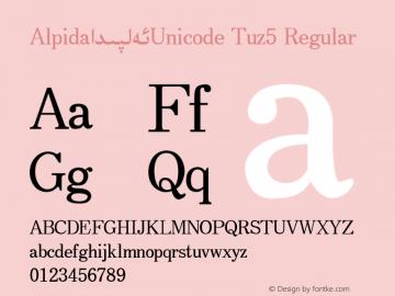 Alpida_Unicode Tuz5