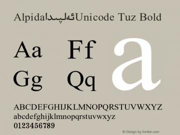 Alpida_Unicode Tuz