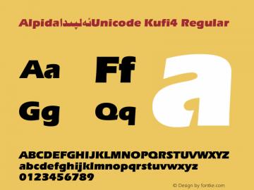 Alpida_Unicode Kufi4