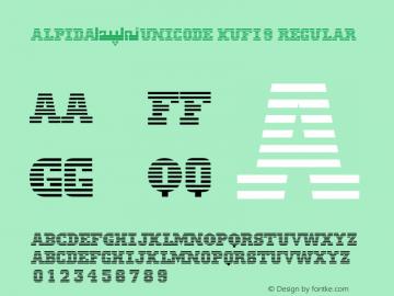 Alpida_Unicode Kufi9