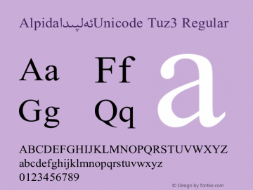Alpida_Unicode Tuz3