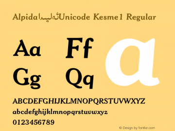 Alpida_Unicode Kesme1