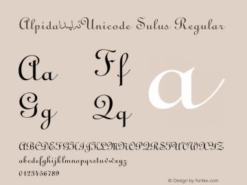 Alpida_Unicode Sulus