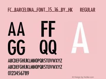 FC_Barcelona_Font_15_16_by_HK远