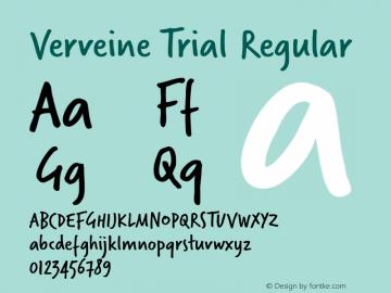 Verveine Trial