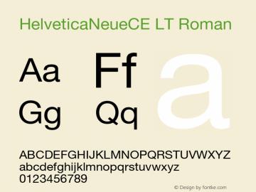 HelveticaNeueCE LT