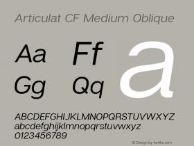 Articulat CF