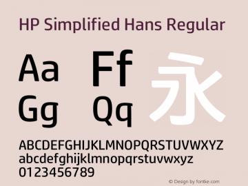 HP Simplified Hans