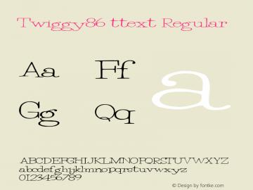 Twiggy86 ttext