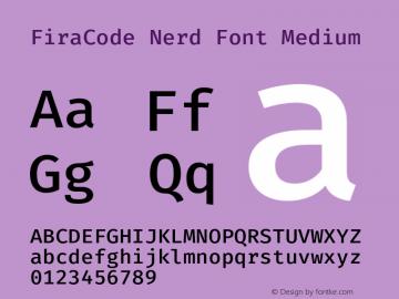 FiraCode Nerd Font