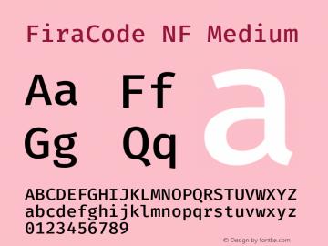 FiraCode NF