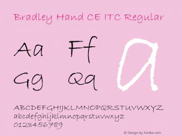 Bradley Hand CE ITC