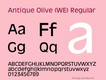 Antique Olive (WE)
