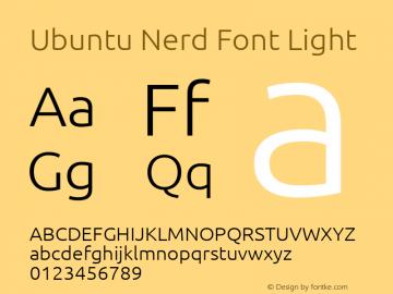 Ubuntu Nerd Font