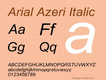 Arial Azeri