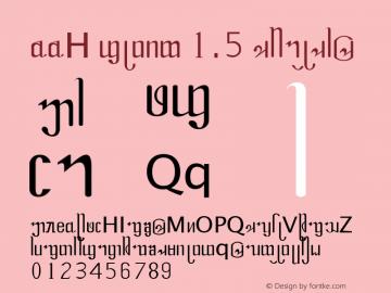 DDH font 1.5