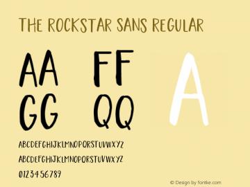 The Rockstar Sans