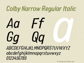 Colby Narrow