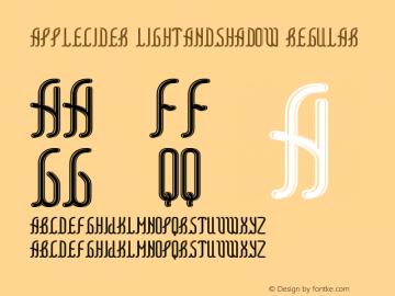 AppleCider LightAndShadow