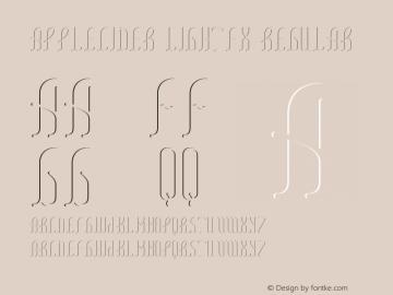 AppleCider LightFX