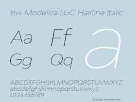 Bw Modelica LGC