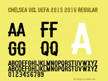 Chelsea UCL UEFA 2015 2016