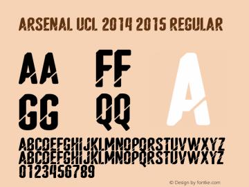 Arsenal UCL 2014 2015